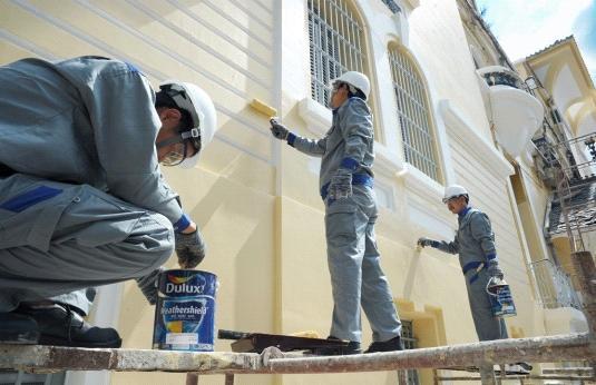 Xây nhà xong bao lâu thì sơn được