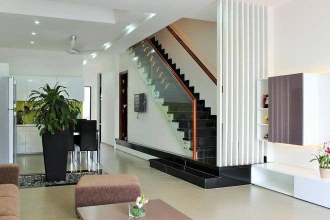 Thiết kế cầu thang dọc 01