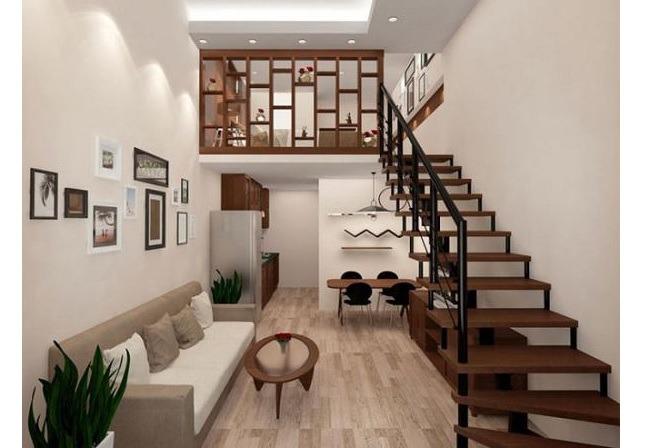 Thiết kế cầu thang dọc 02