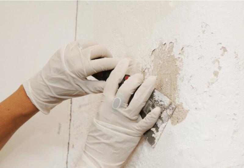 Tường quét vôi có dán được giấy dán tường không?
