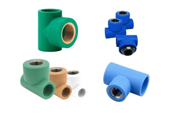 Cút nối ống nước Hoa Sen