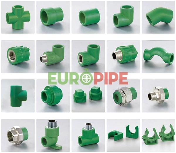 Phụ kiện ống nhựa Europipe